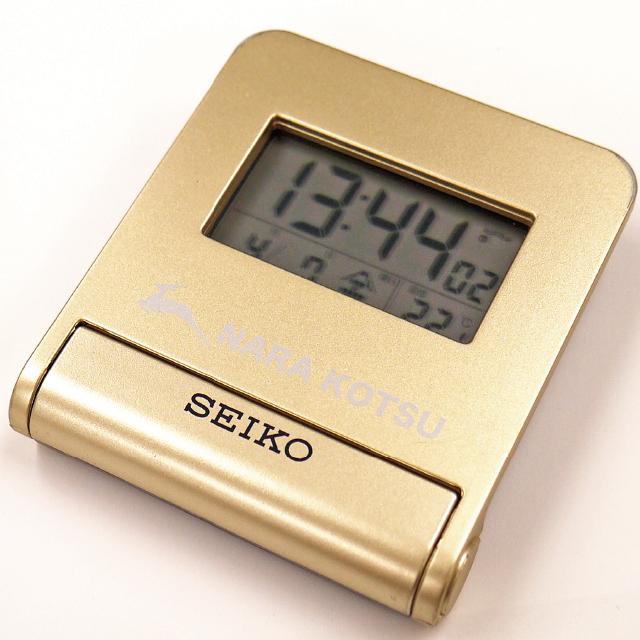 奈良交通オリジナルグッズ SEIKO セイコー電波クロック ≪webサイト限定販売≫