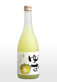 """この""""ゆず酒""""は美味い! 梅乃宿 ゆず酒 720ml -梅乃宿酒造- 【奈良の地酒/リキュール】"""