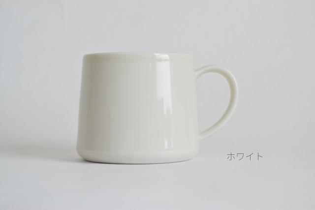 マグカップ2 SLIM ホワイト文字入り