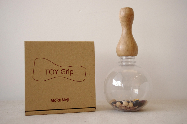 [Mokuneji] TOY Grip with Globe Bottele