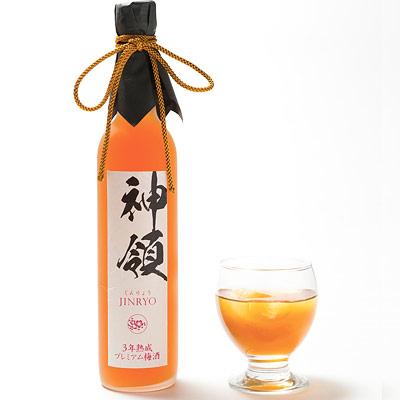 鳴門鯛 3年熟成プレミアム梅酒「神領」 500ml