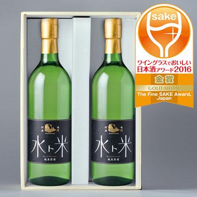 ナルトタイ 純米原酒 水ト米 720ml 2本セット