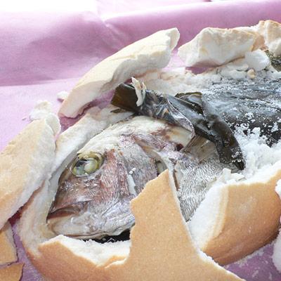 和の極み御祝いギフト:鯛の塩釜焼き