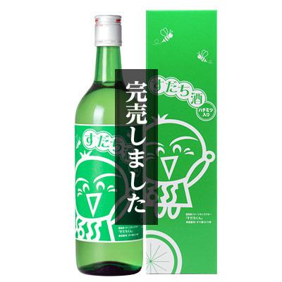 松浦 すだち酒(すだちくんラベル) 720ml