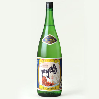 鳴門鯛 特別純米酒(山廃仕込み) 1800ml