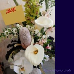 代々木に贈るお祝い花 アレンジメント 生花カラリスト