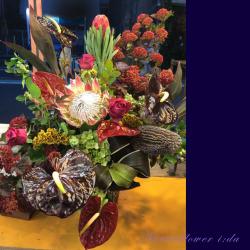 世田谷区に贈るお祝い花 アレンジメント 【生花アレンジ】アバネロ