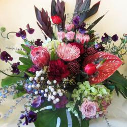 二子玉川に贈る花 大きなアレンジメント カーニバル