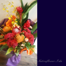 コンサートの花束 トロピカーナ 二子玉川の花屋