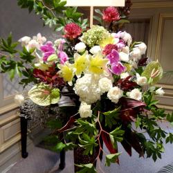 渋谷区本町に贈るスタンド花 スパークル