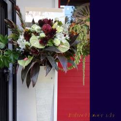 信濃町に贈る開店祝いスタンド花 ネイティブランス