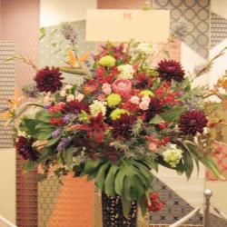 市谷砂土原町に贈るお祝いスタンド花 和・ジャパン