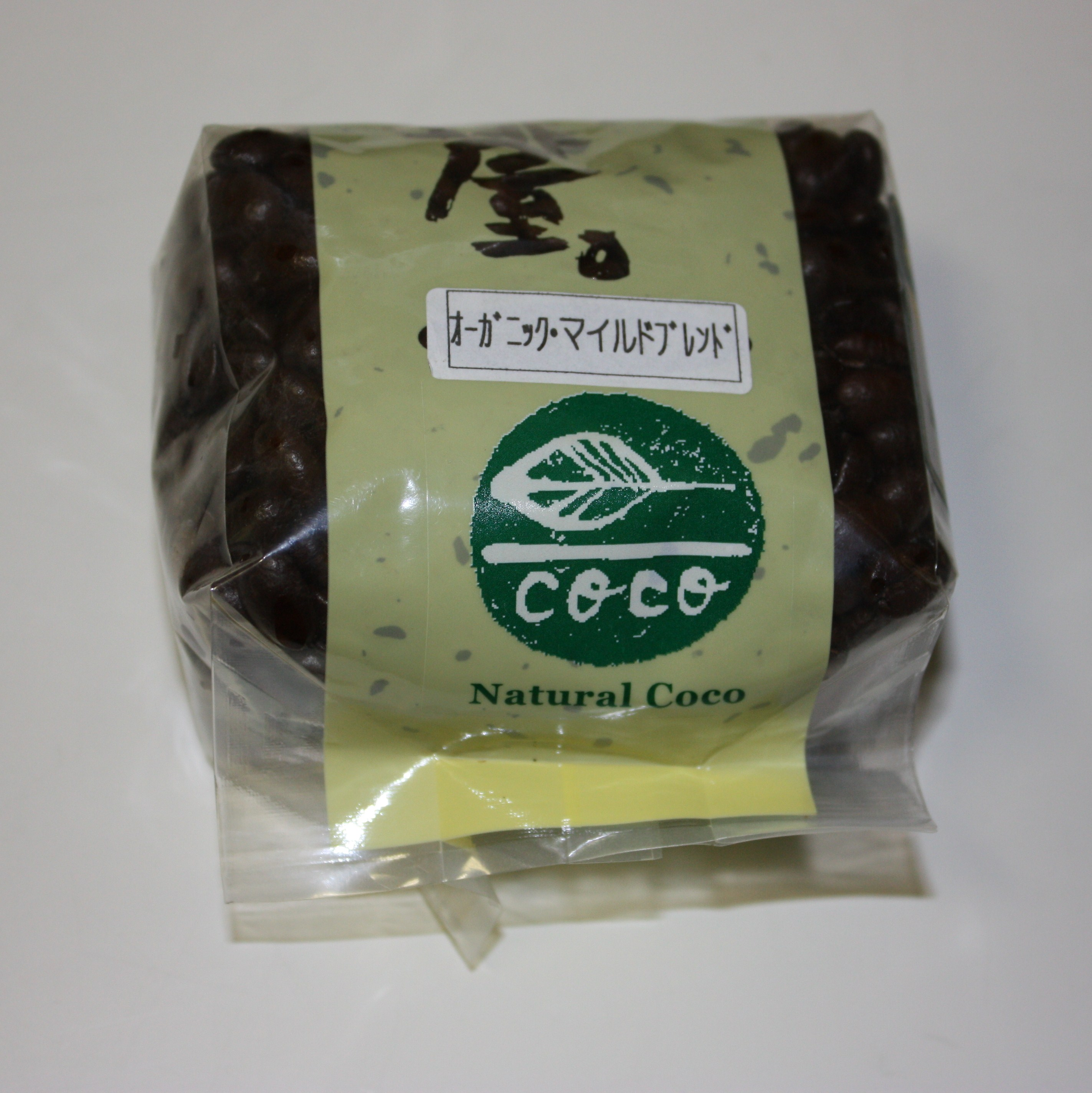 有機栽培珈琲(コーヒー)豆「オーガニック・マイルドブレンド」(100g)