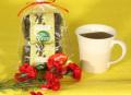 こだわりカフェタイムセット【オーガニックコーヒー(2種)・森修焼マグカップ(なごみ)】