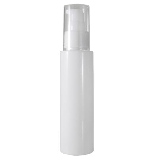 乳白色ポンプ容器 100ml