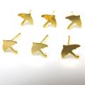 14kgfモチーフピアス(アンブレラ・傘)(ゴールドフィルド)(1ペア)