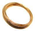 ゴールドフィルドワイヤー「ラウンド・ワイヤー」(ハーフハード)【0.25mm×68メートル】「14kgf」(1本)
