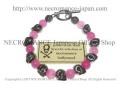 �ڥͥ���ޥ� NECROMANCE�� �ԥ������� ������֥쥹��å� Pink Jade Skull Bracelet �ǿ� ������ ����
