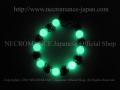 �ڥͥ���ޥ� NECROMANCE�� ��ߥʥ����ȡ���֥饹�?��������֥쥹��å� Luminous Stone Brass Rose Skull Bracelet �� ���� ����� Glow �߸�