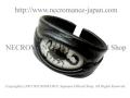 【ネクロマンス NECROMANCE】 リアルスコーピオン レザーバングル  Real Socrpion Leather Bangle 蠍 サソリ 革