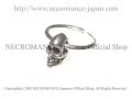 【ネクロマンス NECROMANCE】 スカルピアス <NEWスカル> Skull Pierce <New Skull> 骸骨