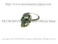 【ネクロマンス NECROMANCE】 スカルピアス <ミドルスカル> Skull Pierce <Middle Skull> 骸骨 頭蓋骨