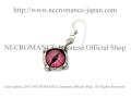 �ڥͥ���ޥ� NECROMANCE�� ����С�����ԥ��� Silver Glass Eye Pierce ��ԥ�/Pink/�?�� �ܶ� ���� �ɥ饴�� Dragon ζ