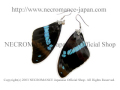 �ڥͥ���ޥ� NECROMANCE�ۥꥢ��Х��ե饤�����ԥ��� Real Butterfly Wing Pierce ���ꥢ������ ���¡� ij�� ��