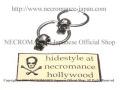 【ネクロマンス NECROMANCE】 2連スカルピアス <タイニースカル> Two Hoop Skull Pierce <Tiny Skull> 骸骨 頭蓋骨 お一人様一点