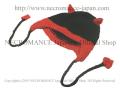 【ネクロマンス NECROMANCE】 デビルハット Devil Hat <レッド/Red/赤> 悪魔 サタン 帽子