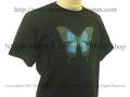 【ネクロマンス NECROMANCE】 ブルーマウンテン スワロウテイル Tシャツ Blue Mountain Swallowtail Butterfly T-Shirt 蝶々 バタフライ