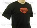 【ネクロマンス NECROMANCE】 ネクロマンス ラブ Tシャツ NECROMANCE LOVE T-Shirt ハート 骸骨