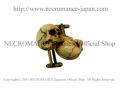 【ネクロマンス NECROMANCE】 スカルカフリンクス Skull Cufflinks 骸骨 カフスボタン