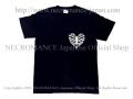 【ネクロマンス NECROMANCE】 ハートリブスケルトン Tシャツ Heart Rib Skeleton T-Shirt <タイニー/Tiny> 骸骨 肋骨