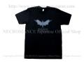 【ネクロマンス NECROMANCE】 ネクロマンス ロールシャッハテスト Tシャツ Necromance Rorschach Test T-Shirt 性格検査 蝙蝠 コウモリ
