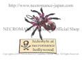 【ネクロマンス NECROMANCE】 ピンクスパイダーヘアークリップ Spider Hairclip <ピンク/Pink/桃色> 蜘蛛