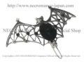 【ネクロマンス NECROMANCE】 バットヘアークリップ Bat Hairclip <ブラック/Black/黒> 蝙蝠 コウモリ