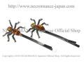 【ネクロマンス NECROMANCE】 スパイダーヘアーピン Spider Hair Pins <アンバー/Amber/琥珀> 蜘蛛