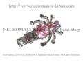 ピンクスパイダークリップ Spider Clip <ピンク/Pink/桃色> 蜘蛛 【NECROMANCE ネクロマンス】
