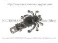 スパイダーヘアークリップ Spider clip <ブラック/Black/黒> 蜘蛛 【NECROMANCE ネクロマンス】