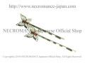 【ネクロマンス NECROMANCE】 フィリグリーバタフライヘアーピン Filagree Butterfly Hair Pins<レッド/Red/赤>蝶々 ラインストーン