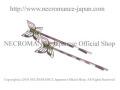 【ネクロマンス NECROMANCE】フィリグリーバタフライヘアーピン Filagree Butterfly Hair Pins<黄緑>蝶々 ラインストーン