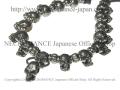 【ネクロマンス NECROMANCE】 タイニースカルネックレス Skull Necklace <Tiny Skull> 骸骨