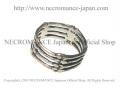【ネクロマンス NECROMANCE】 4ボーンリング Silver Four Bone Ring 骸骨 指輪