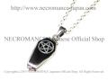 【ネクロマンス NECROMANCE】 棺桶ペンタグラムネックレス Silver Coffin Pentagram Necklace 棺桶  五芒星