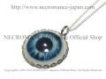 【ネクロマンス NECROMANCE】 義眼ネックレス Eye Necklace <ブルー/Blue/青> 目玉