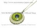 【ネクロマンス NECROMANCE】 義眼ネックレス Eye Necklace <イエロー/Yellow/黄> 目玉