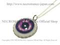 【ネクロマンス NECROMANCE】 義眼ネックレス Eye Necklace <パープル/Purple/紫> 目玉