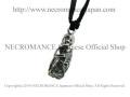 �ڥͥ���ޥ� NECROMANCE�ۡڸ���� ����С�������ȥ� �ϥ� �ꥶ���ɥͥå��쥹 Silver Skeleton Hug lizard Necklace ���� �ȥ��� ����
