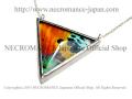 �ڥͥ���ޥ� NECROMANCE�ۥꥢ��Х��ե饤�����ȥ饤����ͥå��쥹 Real Butterfly Wing Triangle Necklace �㥵�åȥ⥹/���¡� ij�� ��